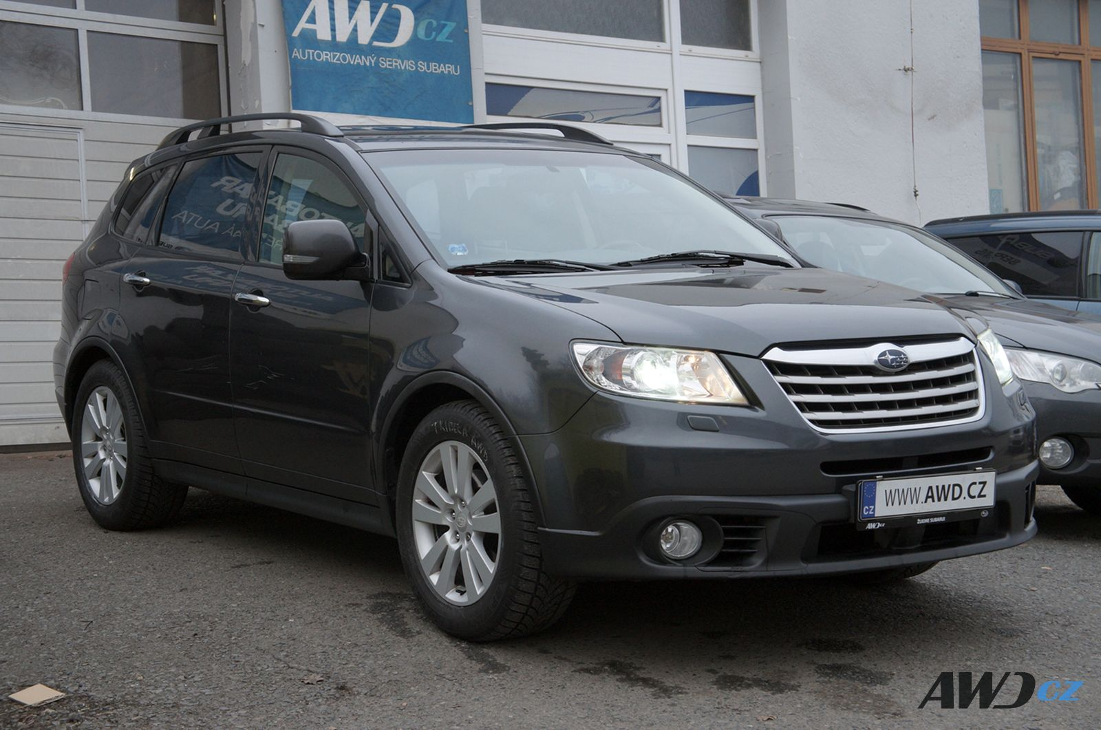 SUBARU Tribeca 3.6 Executive MY2009, 200000Kč, 231000 km, 2008